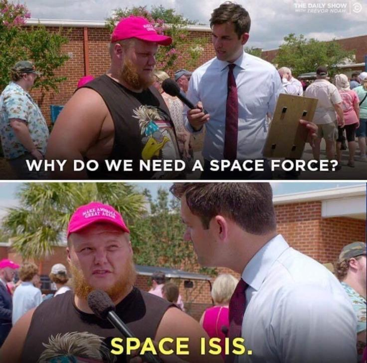 SPACE ISIS